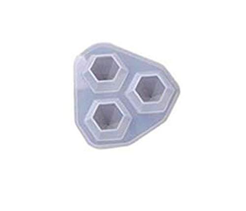 Brussels08 1 pz forma di diamante silicone resina fusione stampi gioielli fai da te mestiere stampo ciondolo collana resina perline stampo S