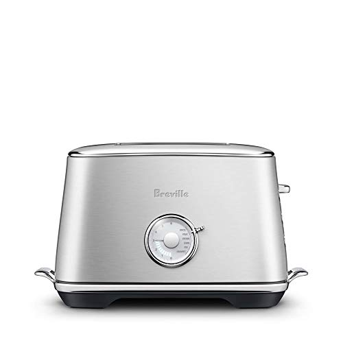 Breville BTA735BSS1BUS1 the Toast Select Luxe Countertop Toaster, 2 slice (Renewed)