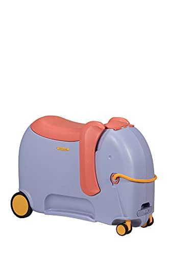 Samsonite Dream Rider Deluxe - Valigia per bambini, 55 cm, 25 L, Viola (Elephant Lavender)