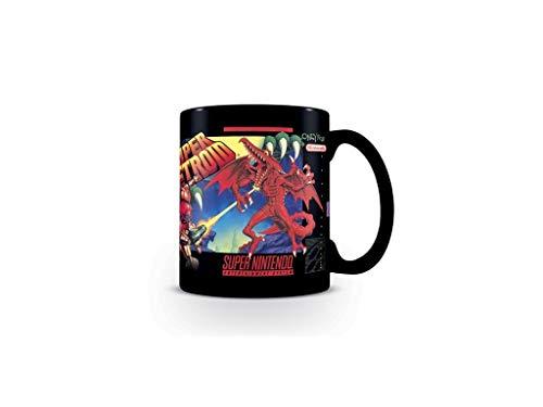 Super Metroid Prime - Taza premium – Logo – Caja de regalo
