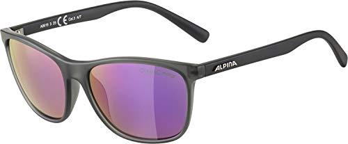 ALPINA Unisex - Erwachsene, JAIDA Sportbrille, grey transparent matt, One Size