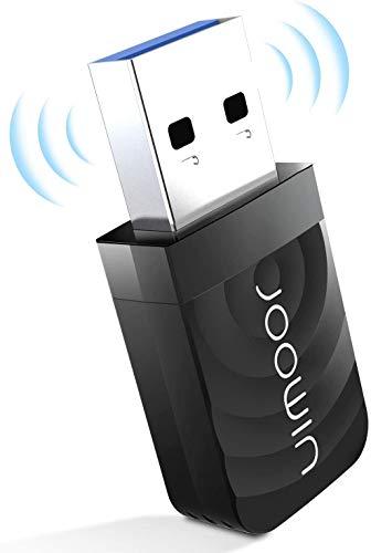 JOOWIN Adattatore WiFi USB 3.0 1300Mbps 2.4G/5G Dual Band WiFi Dongle adattatore di rete wireless, Supporta Windows 7/8/8.1/10/Mac OS 10.7-10.12/Mac OS X, per PC/Desktop/Tablet/Laptop