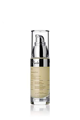 Plush luxuryBIOcosmetics - Élixir intensif pour le visage - Gelée royale vanille de Madagascar et miel - fermeté et vitalité des tissus - tous types de peaux (30 ml)