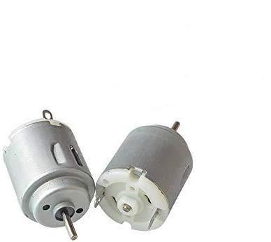 ARCELI 10Pcs DC Motor 140 Mini Motor eléctrico DC 3-5V 6300 RPM para juguetes DIY