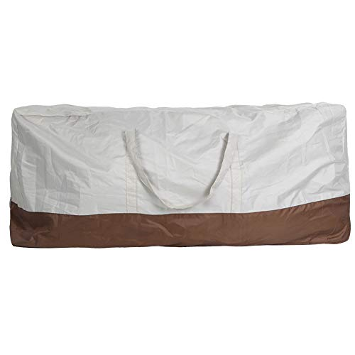 Bolsa de cojín para Muebles, Bolsa de Almacenamiento Impermeable Resistente al Desgaste, Plegable para almacenar Muebles de Exterior de la Familia