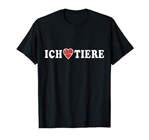 Tiere Liebe Fleisch Kotelett Fleischesser Rinderfleisch T-Shirt