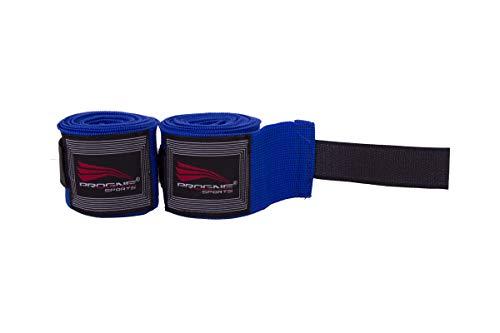 PROGNE SPORTS REF 555 Bandagem Faixa de Mão para Artes Marcias, 5m, Azul