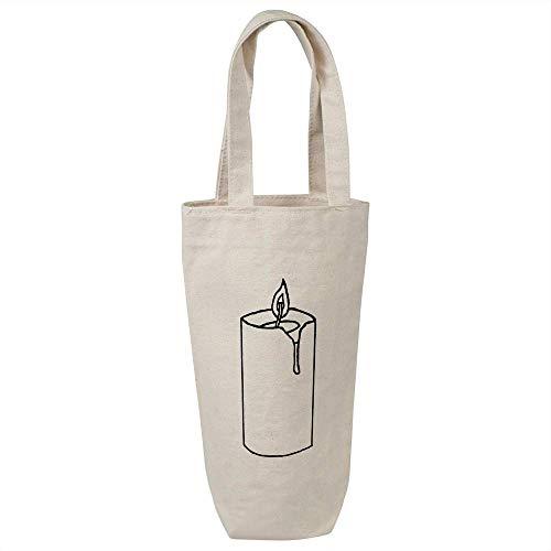 Azeeda 'Brennende Kerze' Weinflasche Geschenktasche / Flaschenträger (BL00011657)