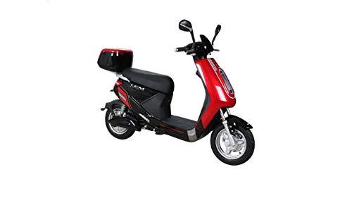 Tecnobike Shop Bici/Scooter Elettrico Bicicletta a Pedalata assistita E-Bike LEM Jumper 250W 48v 20Ah Batteria al Litio (Rosso)