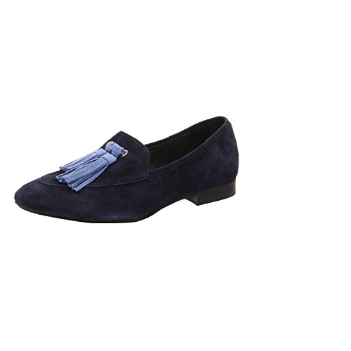 Donna Carolina Damen Slipper 33135159 blau 293795