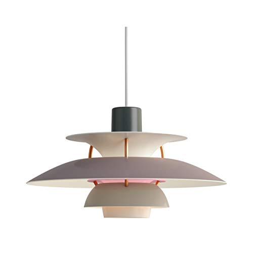 PH 5 Mini Hängeleuchte, Louis Poulsen, Pendelleuchte Entworfen von Poul Henningsen (Nuancen von Grau)