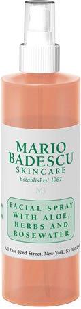 Mario Badescu Facial Spray with Aloe, Herbs and Rosewater, 8 Fl Oz