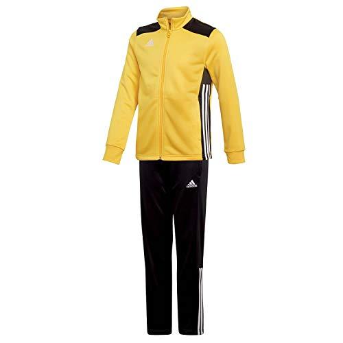 adidas Kinder Polyesteranzug Trainingsanzug Regista 18 BOGOLD/Black 164