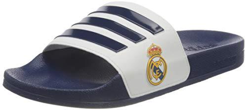 adidas Adilette Shower Stripes, Chanclas Hombre, Dark Blue/Footwear White, 43 EU