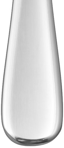 Amazon Basics - Cuchillos de mesa de acero inoxidable, con punta redonda, juego de 12