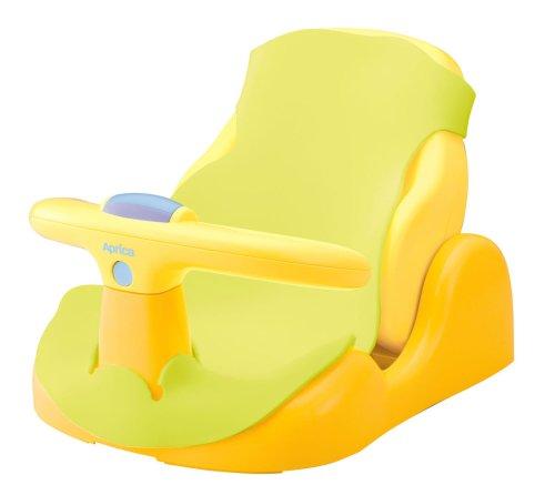 アップリカバスチェア 赤ちゃんの気持ち 生後2ヵ月頃から使用可 (パーツ取り外し可 & やわらかマット付) 91592