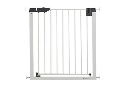 GEUTHER - Barrière de porte easylock light métal blanc/argenté 74-83 cm