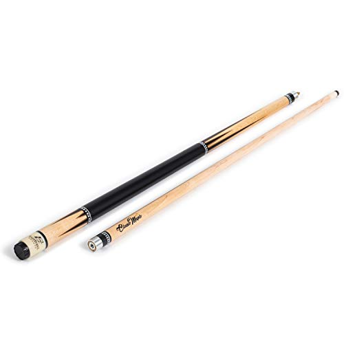 EastPoint Sports Deluxe Wood Billiard Cue - 57 Inch - Features Premium Canadian Maple Wood Material, Nylon Grip (Color May Vary)