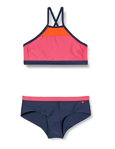 ESPRIT Ross Beach YG Bustier+Hipster Short Set di Bikini, 625, 164 Bambina