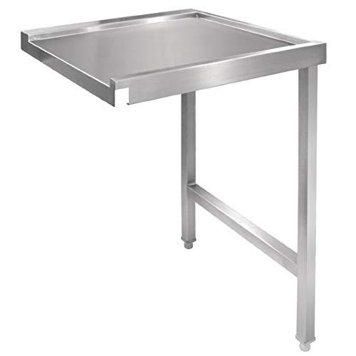 Vogue Gj534 passer la table de lavage à plat, droite, 600 mm