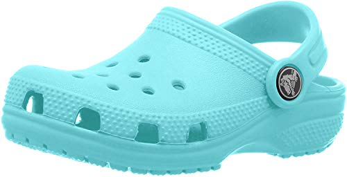crocs Unisex-Kinder Classic Kids Clogs, Blau (Pool 40m), 32/33 EU