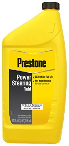 Prestone AS261 Power Steering Fluid, 50,000 Miles, 32 oz.