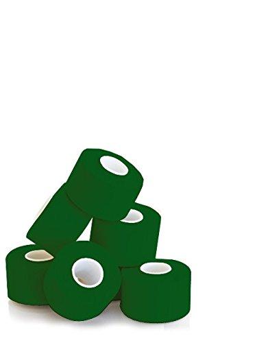 KK Hygiene Sporttape 3,8 cm x 10 m grün, 1er Pack (1 x 6 Stück)