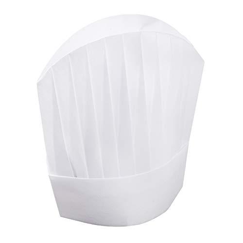 european white chef hat - 7