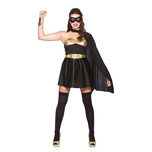 Hot Super Hero - Black/ Gold (XS)