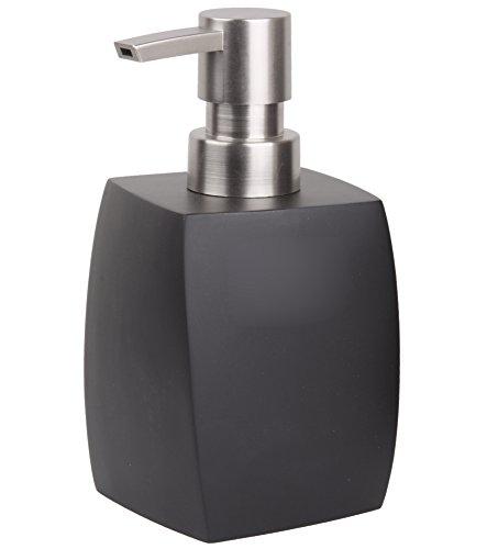 Seifenspender Wave Schwarz | ein Blickfang für jedes Badezimmer | modernes Design | stabile Qualität
