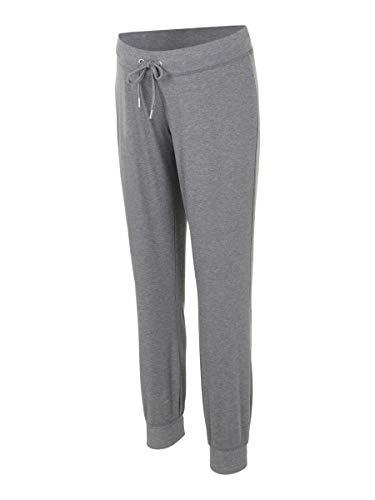 MAMALICIOUS Damen MLKEHLA Jersey Pant A. Jogginghose, Medium Grey Melange, XS