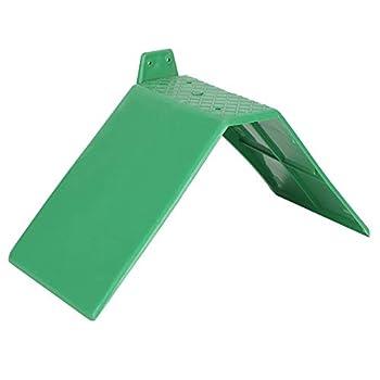 10pcs Support de Repos de Colombe, en Plastique Petits Pigeons Verts Support de Repos perchoirs à Oiseaux antidérapants perchoirs de Pigeon pour Oiseaux Support de Cage Accessoires