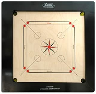 carrom board tournament size