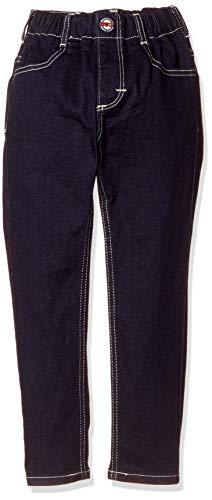 [エドウィン] ジーンズ [どんな服にもあう]キッズ レギュラーストレートパンツ(ストレッチ) 【80~130cm】ETB03 インディゴブルー 120