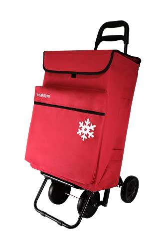 Bastilipo 7081 Julia Rojo-Carro de la Compra de 4 50 litros