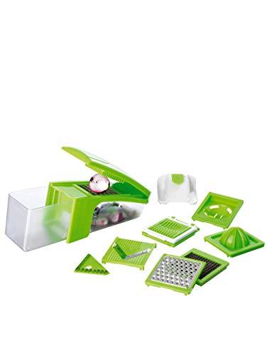 GOURMETmaxx GOURMETMaxx Multi-Schneider Küchen-Genie 8 in 1 grün