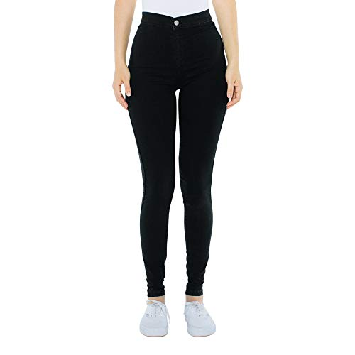 American Apparel Women#039s The Easy Jean black Large