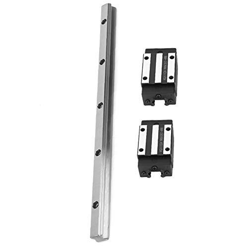 Set di guide per cuscinetti lineari 1 pezzi HGR20-300mm Guida per guide scorrevoli per guide lineari con 2 pezzi di carrelli portautensili