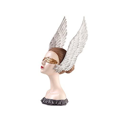 LIPENG Diosa De La Suerte Gabinete De Televisión Arte Decoración Nórdica Creativo Moderno Minimalista De La Decoración De La Decoración Escultura (Color : Figure 2)