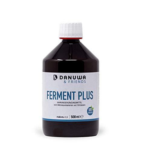 DANUWA Ferment Plus mit 8 Milchsäurebakterien und 19 Kräutern 500ml