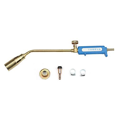 Antorcha de pistola de llama, boquilla de metal de 30 mm Soldadura por soldadura industrial Calentamiento Soplador de gas licuado Soplete de gas licuado para pintura de pistola de pulverización(#1)