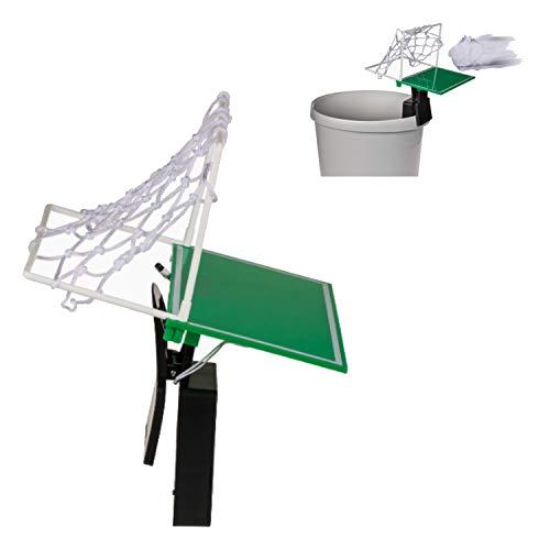 Unbekannt Fußballtor Bürospiel für den Papierkorb - Bürogadget Schreibtischspiel Fussball-Tor