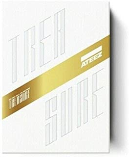 Ateez 'Treasure EP.Fin : All To Action' 1st Album Z Ver CD+108p Photo Booklet+2p PhotoCard+1p Sticker+1p Treasure Card+1p Treasure Film+Message PhotoCard SET+Tracking Kpop Sealed