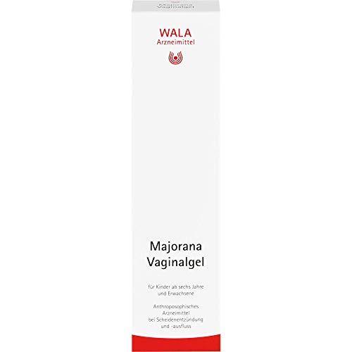 WALA Majorana Vaginalgel bei Scheidenentzündung und -ausfluss, 100 g Gel
