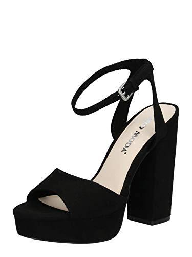 VERO MODA Damen Sandale VMCLOVER schwarz 36