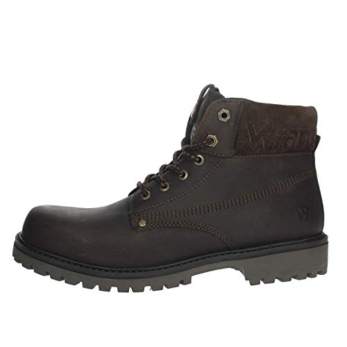 Wrangler Arch Mens Brown Lace Up Ankle Boot - Size 9 UK - Brown