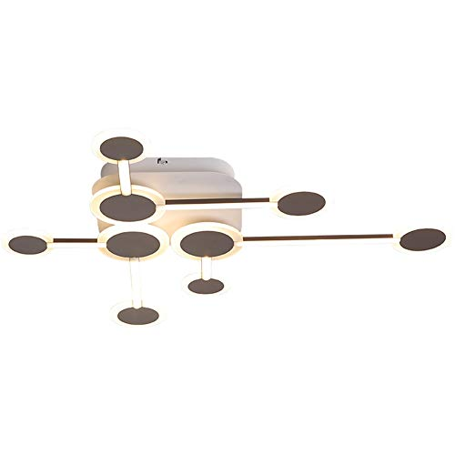 Plafondlamp in de vorm van een tak – super helder, 42 W, met afstandsbediening, minimalistisch, modern, geschikt voor woonkamer, keuken, badkamer, slaapkamer
