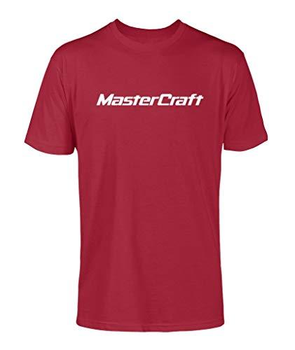 Mastercraft Classic Logo Men's T-Shirt (Red, Medium)