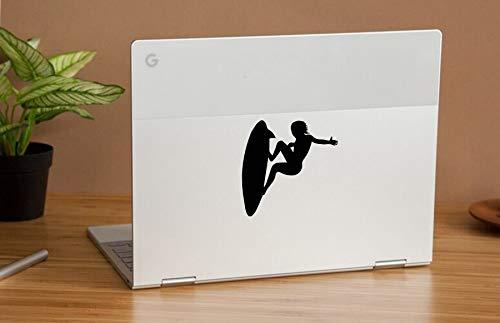 DecalStoreVienna Vinyl Sticker Surfen Sommersport Meer Club Sport Spaß Computer Tablet Notebook Tastatur Telefon Handy MacBook Apple Dekoration Kunst R9