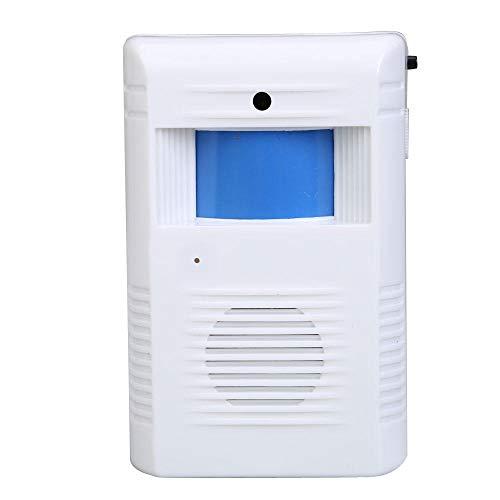 Winkel Winkel Home Welkom Chime-lichtsensor Draadloze alarmingang Deurbel Home Office Entry Beveiliging Deurbel Deurbel